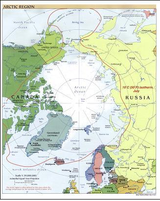 位于连接格陵兰岛和加拿大埃尔斯米尔岛的纳雷斯海峡.